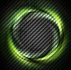 Vector clipart: Green ring on dark square texture