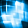 Vector clipart: Blue abstract design