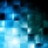 Vector clipart: Bright blue design