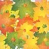 Vector clipart: Grunge autumn background