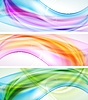 Vector clipart: Bright elegant banners
