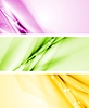 Vector clipart: Colourful modern banners