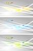 Set der abstrakten Banner | Stock Vektrografik