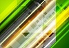 Vector clipart: Abstract bright tech background