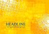Vector clipart: Bright orange grunge tech background