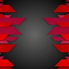 Vector clipart: Dark red corporate abstract tech background