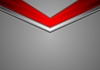 Vector clipart: Red grey corporate abstract background