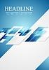 Векторный клипарт: Серо-голубые блестящие привет-тек движения