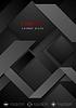 Векторный клипарт: Черный абстрактный корпоративный геометрических фон