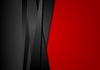 Red and black abstract striped background
