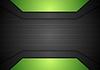 Dunkle schwarze und grüne Tech Corporate Design | Stock Vektrografik