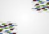 Vector clipart: Abstract bright tech design