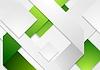 Corporate Tech weißen grünen Hintergrund | Stock Vektrografik