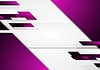 Vector clipart: Abstract geometric violet background