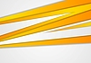 Vector clipart: Orange corporate stripes abstract background