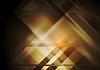 Vector clipart: Dark hi-tech geometric abstract background