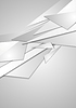 Vector clipart: Abstract grey geometric corporate background