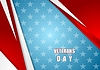 Vector clipart: Abstract Veterans Day background