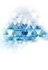 Vector clipart: Blue white tech triangles design