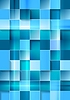 Vector clipart: Bright geometric tech blue squares background