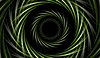 Vector clipart: Abstract green tech background