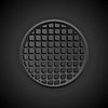 Dunkle schwarze abstrakte Tech-Hintergrund | Stock Vektrografik