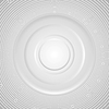 Vector clipart: Grey abstract circles technology background