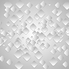Vector clipart: Grey tech geometrical background