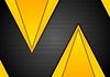 Vector clipart: Dark abstract corporate tech modern background