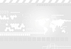 Vector clipart: Light gray tech drawing background