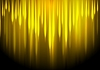 Vector clipart: Glow yellow stripes abstract background