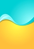 Vector clipart: Abstract bright contrast wavy background