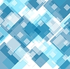 Vector clipart: Tech geometric blue background