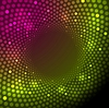 Vector clipart: Bright shiny lights abstract background
