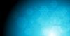 Geometrische Sechskant-Elemente auf blauem Hintergrund | Stock Vektrografik