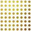 Gold-Glitter Kreismuster-Design | Stock Vektrografik