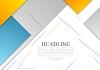 Vector clipart: Minimal tech geometric brochure design
