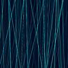 Векторный клипарт: Cyan неоновые абстрактные линии на темном фоне