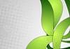 Векторный клипарт: Ярко-зеленый фон гранж волнистые