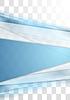 Векторный клипарт: Синие полосы технологий размыты корпоративного прозрачный