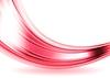 Векторный клипарт: Красный блестящий гладкий волнистый фон
