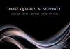 Vector clipart: Iridescent rose quartz and serenity wavy background