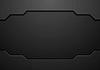 Vector clipart: Abstract black technology concept design