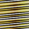 Vector clipart: White, black and golden stripes design