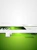 Vector clipart: Green grey tech contrast background