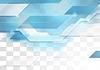 Vector clipart: Bright blue tech corporate geometric background