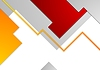 Vector clipart: Tech minimal corporate brochure template