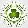 Trébol verde del trébol del día del St. Patrick | Ilustración vectorial