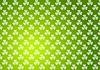Klee Kleeblätter grün abstrakte Textur Hintergrund   Stock Vektrografik
