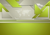 Abstract green grey corporate brochure background
